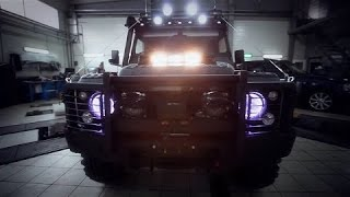 Land Rover Defender Expedition Travel