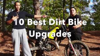 10 Best Dirt Bike Upgrades - The Bike Corner