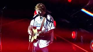 """Ed Sheeran """"You Need Me, I Don't Need You"""" (LIVE) @ The STAPLES Center on 8/11/17"""