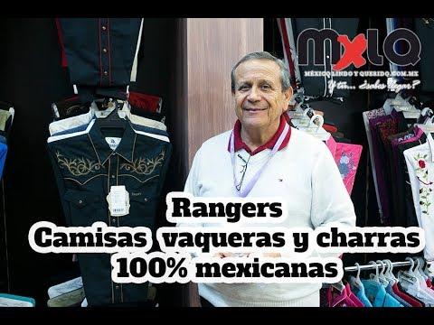 4ad8ec92e2 Camisas charras y vaqueras 100% mexicanas  Rangers. Reportaje  29 ...
