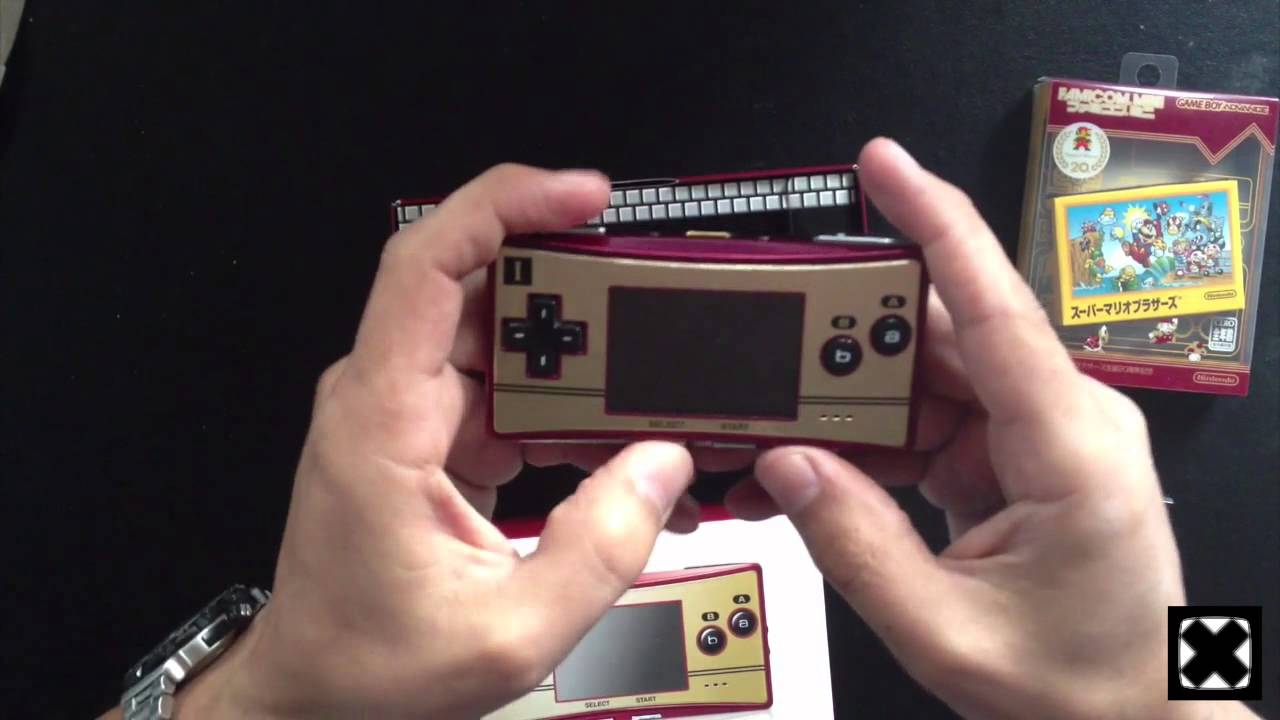 Game Boy Micro 20th Anniversary