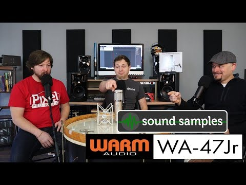 PPA Unfiltered: 52 Warm Audio WA-47jr Sound Samples! Drums, Guitar, And Voice