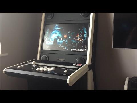 Vewlix slim diy arcade cabinet cade for Argento cade cabine