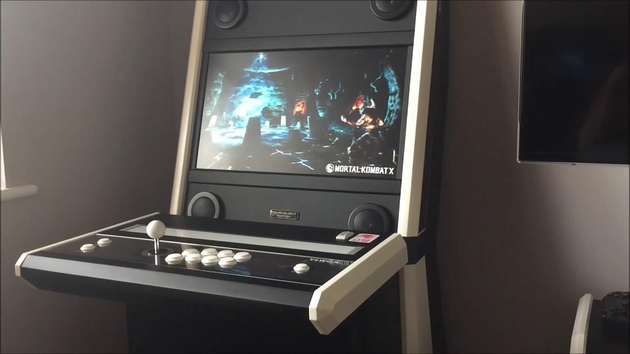 Vewlix 'Slim' : DIY Arcade Cabinet - YouTube