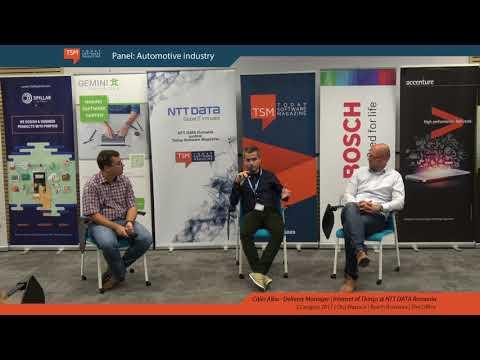 Expert talks panel - Automotive Industry