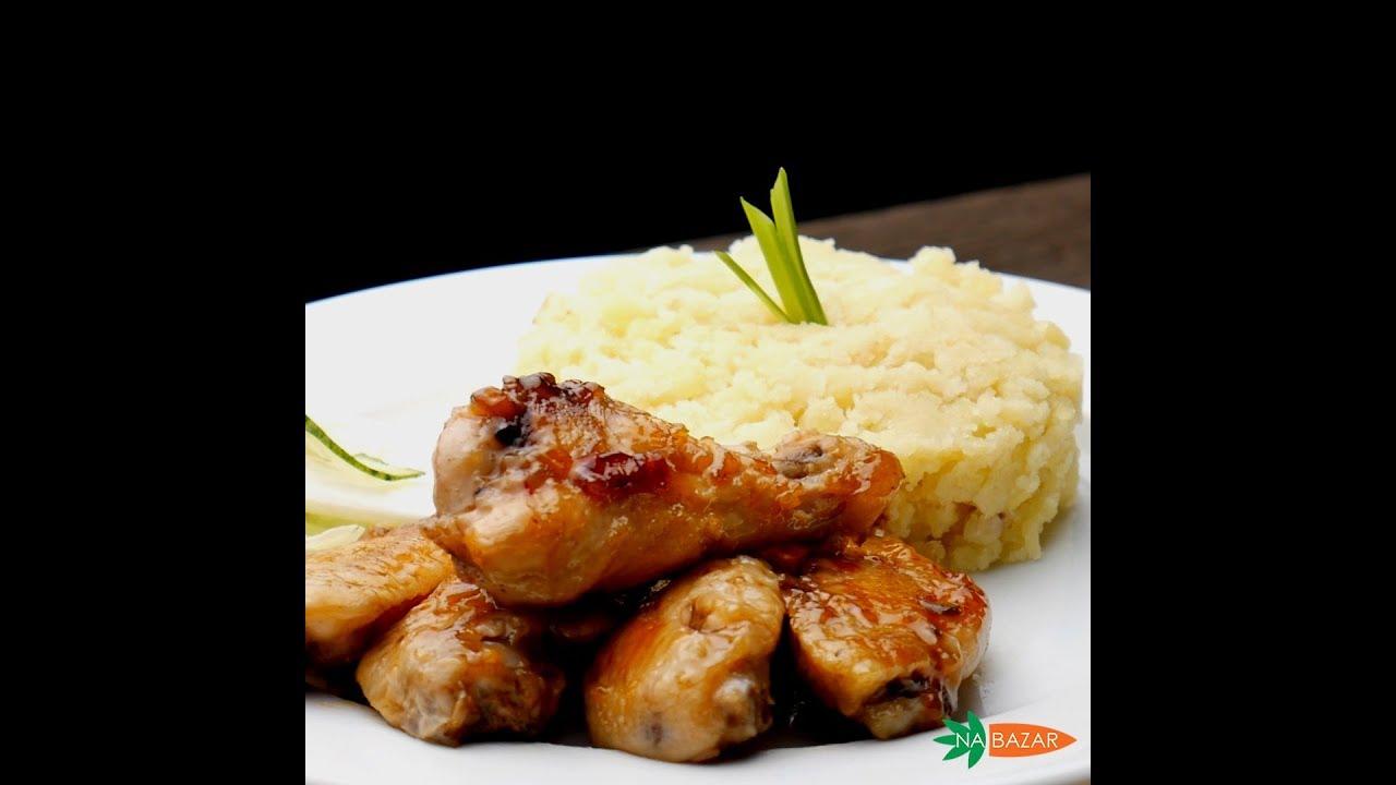 Рецепты НаБазар: Куриные крылья в сладком чили соусе с ...