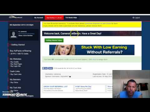 Traffic Monsoon Review- I cash in adpaks live!- No scam!!