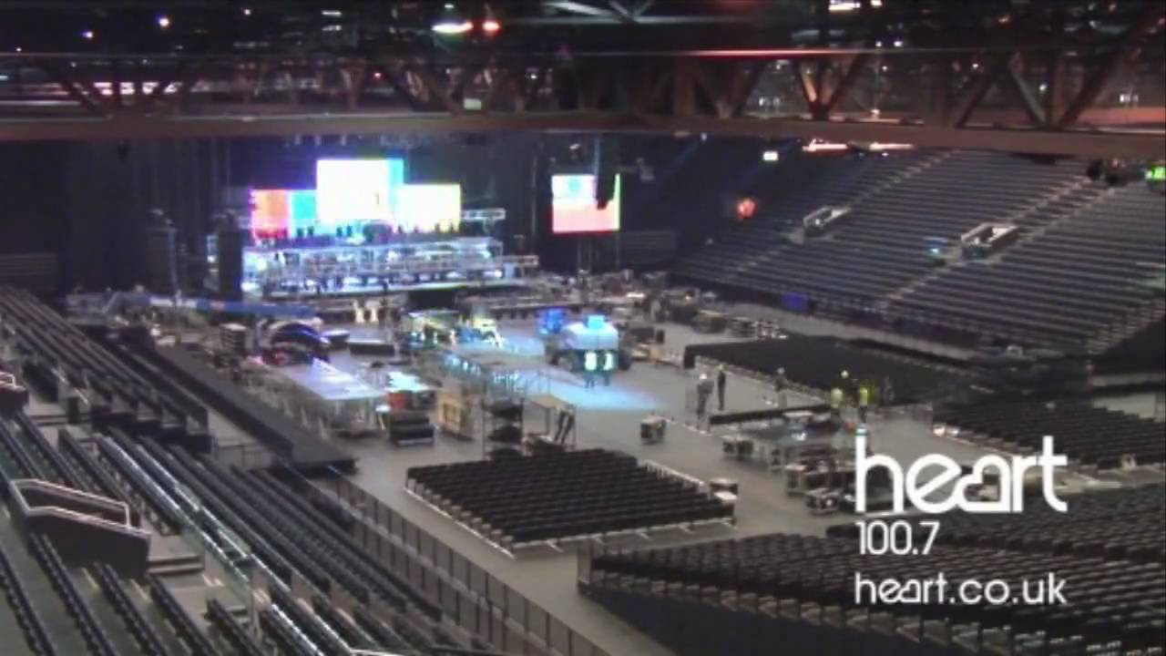 X Factor Live Time Lapse Stage Build At Lg Arena