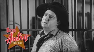 Smiley Burnette & Pals of the Golden West - On the Sunny Side of the Cell (Rovin' Tumbleweeds 1939)