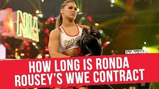 How Long Is Ronda Rousey's WWE Contract
