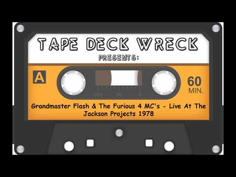 Grandmaster Flash & The Furious 4 MC's - Live At The Jackson Projects 1978