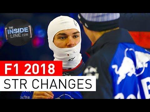 F1 NEWS 2018 - TORO ROSSO: BIG CHANGES [THE INSIDE LINE TV SHOW]