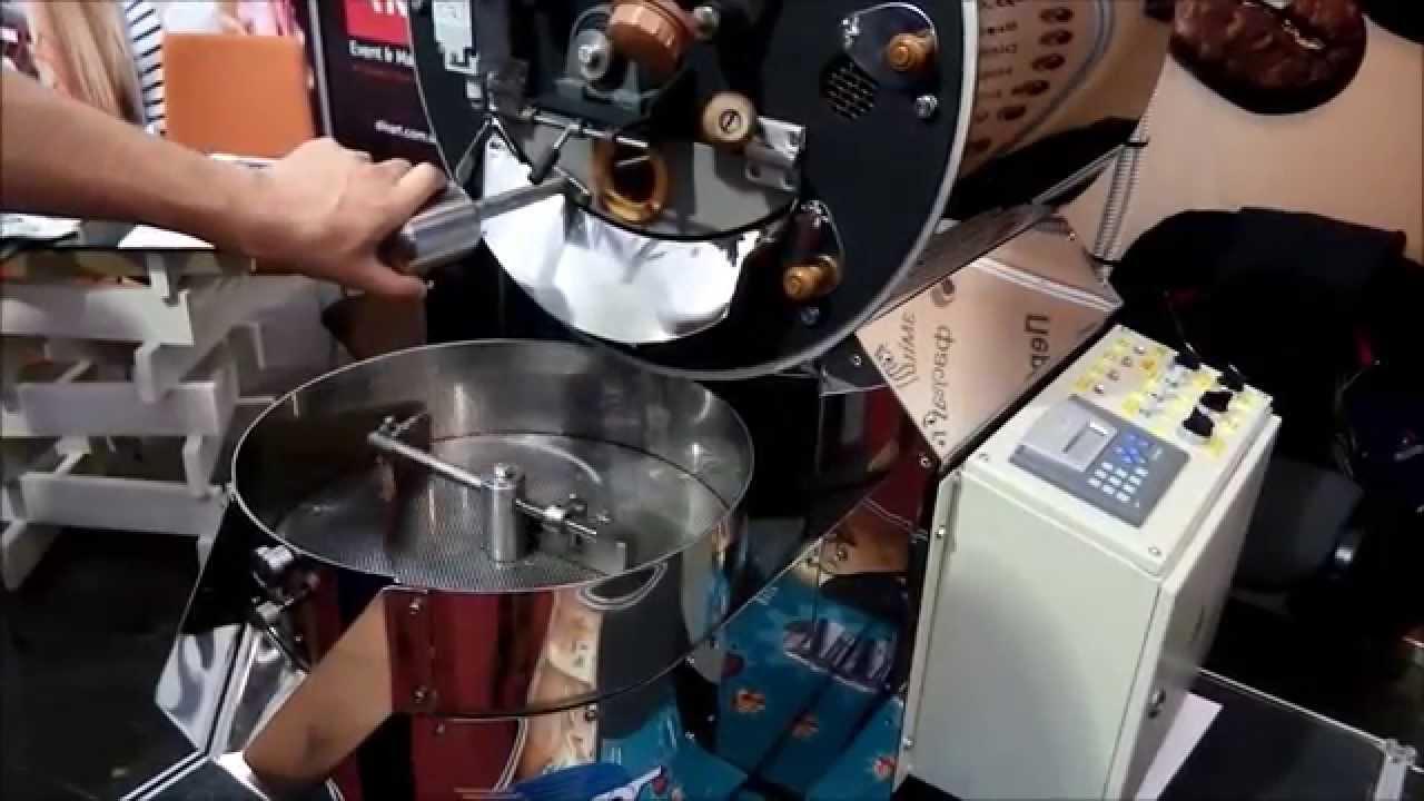 Ростер для обжарки кофе - YouTube