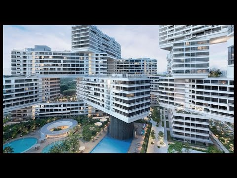 The Interlace, Singapore: World Building Of The Year. And It's Damn Cool Looking!