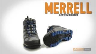 Merrell Hilltop Ventilator Hiking Boots - Waterproof (For Little Kids)