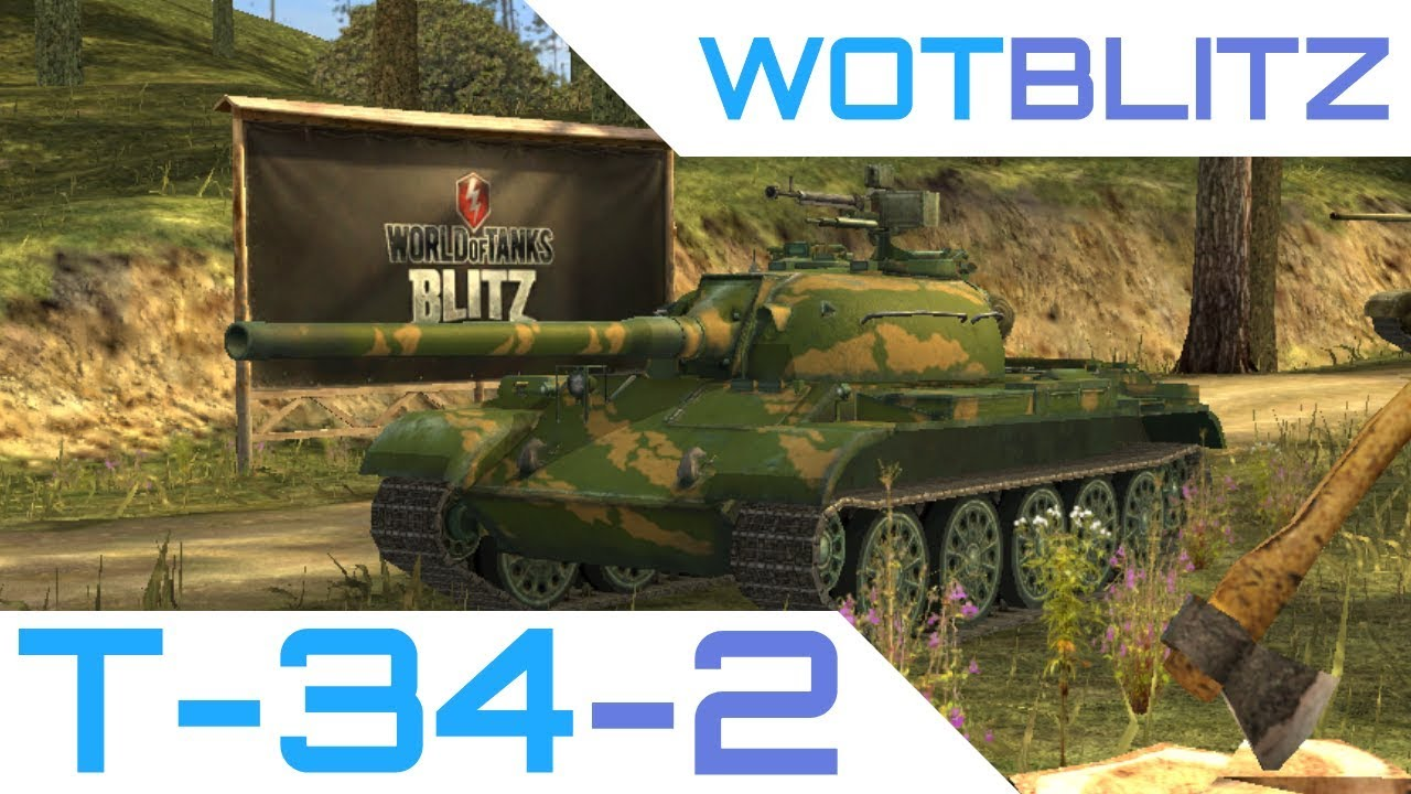 WoT Blitz - T-34-2 Review - Criminally Underrated! - YouTube