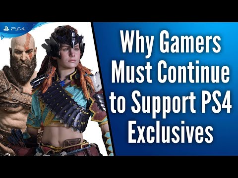 Why Gamers Must Continue to Support PS4 Exclusives and Hold Them High Mp3