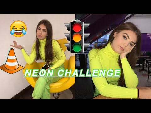 NEON CHALLENGE|WENT TO A BUSY SHOPPING CENTRE WEARING NEON|FAIL!!!!