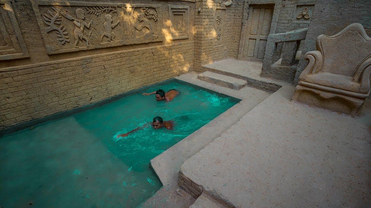 60 Days Build 12 Million Underground Swimming Pool House