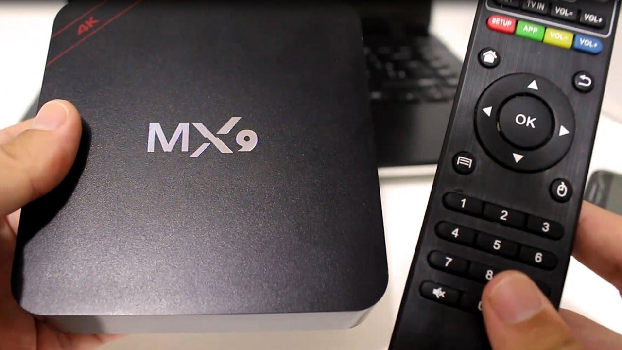 CONHEÇA O TV BOX MX9 - TRANSFORME SUA TV EM UMA SMART TV