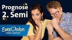 Prognose 2. ESC-Halbfinale: Die Top Ten von Alina und Stefan | Eurovision Song Contest