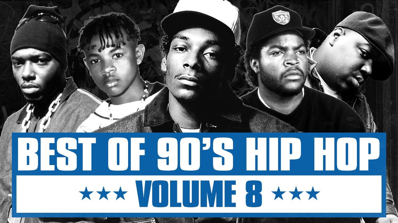 90's Hip Hop Mix #08 |Best of Old School Rap Songs | Throwback Rap Classics | Westcoast | East