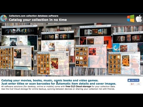 CollectorZ Media Library Inventory Catalog Database System