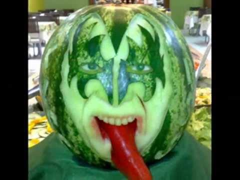 Esculturas em m... Watermelon Carving Ideas