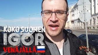 Koko Suomen Igor Venäjällä: Tervetuloa Pietariin!