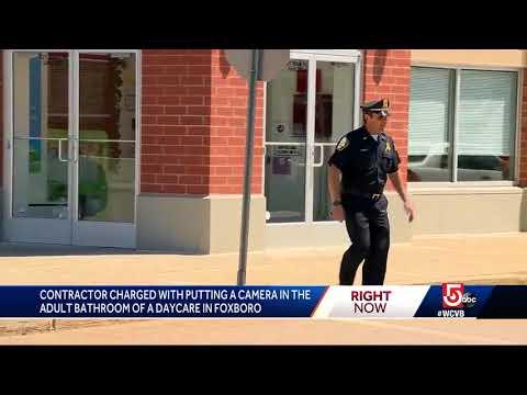 Police: Man hid recording device in preschool restroom