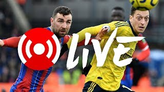 🎥 Crystal Palace 1-1 Arsenal | Premier League | Arsenal Nation LIVE