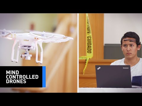 These Students Use Their Own Brain Patterns To Race Drones