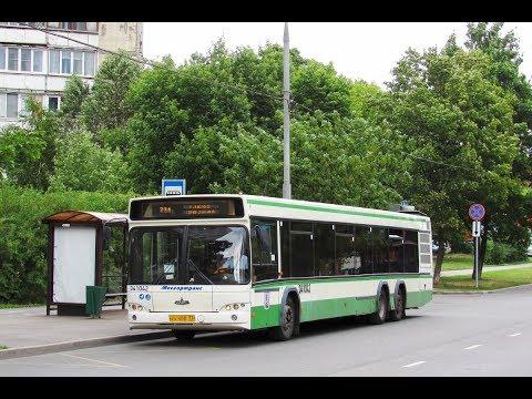 Поездка на автобусе МАЗ-107.466 №041042 №731 138-й кв. Выхина-м.Выхино