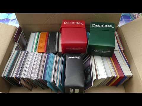 MASSIVE $1? - $1000? YUGIOH Card Box COLLECTION!Decks,Deck Boxes,Sleeves,Foils,Bulk Reveling Opening