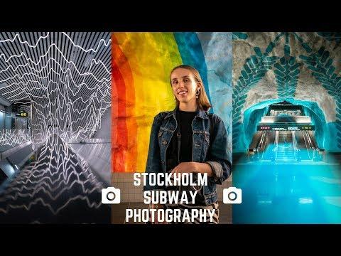STOCKHOLM SUBWAY PHOTOGRAPHY