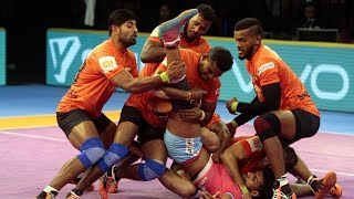 Pro Kabaddi 2018 Highlights | U Mumba Vs Jaipur Pink Panthers