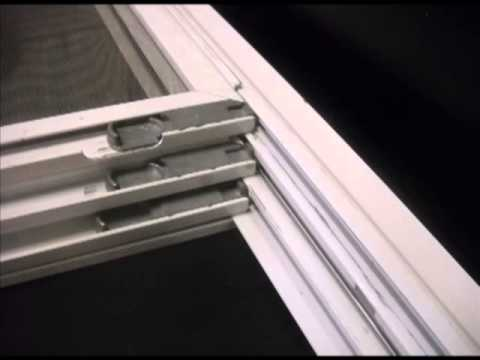 Triple Track Window Screen Measuring