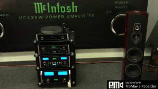 Fascinating Saxophone Jazz played by McIntosh MCD500 sacd player