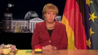 Die Neujahrsansprache der Bundeskanzlerin /Antonia von Romatowski/ Toll! Frontal 21 PARODIE