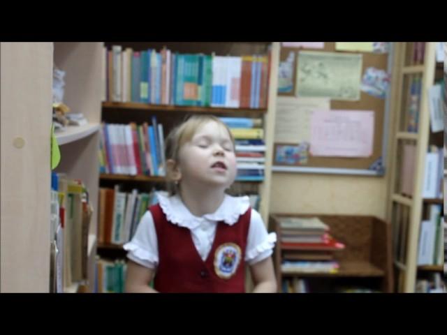 Изображение предпросмотра прочтения – ВикторияМалюшина читает отрывок изпроизведения «Руслан и Людмила» А.С.Пушкина