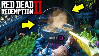 DONT DRINK THIS IN RED DEAD REDEMPTION 2! Secret RDR2 Gameplay