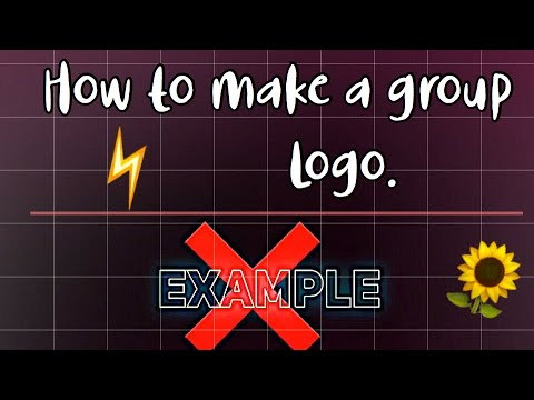 How to make a grp logo on VIDEO STAR ⚠️