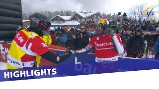 Pierre Vaultier earns career's 22nd in second SBX race at Feldberg | Highlights
