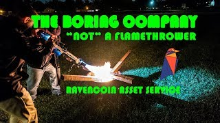 The Boring Not a Flamethrower Ravencoin Asset Linking Service