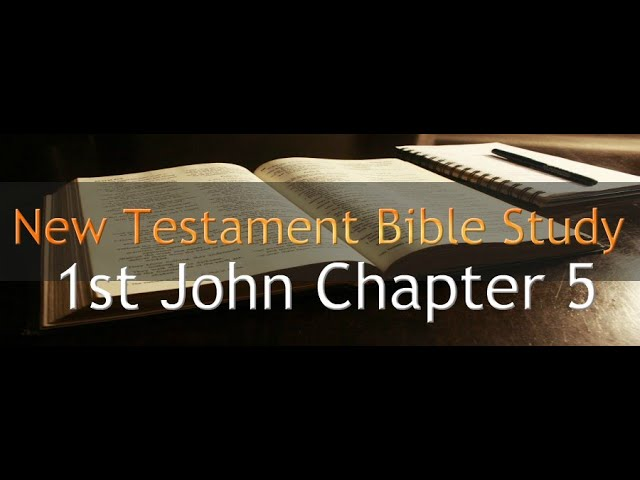1st John Chapter 5 - Reading Through The Holy Bible
