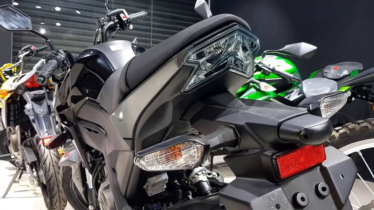 Fantastic Kawasaki Bike [ Z125-Pro ] Black - Mini All-Rounder