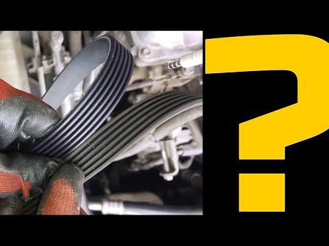 Ford Transit  V Kayış Sökme-Takma.                      ***V belt replacement***