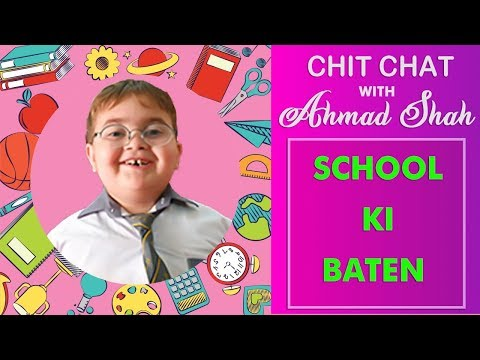 Cute Ahmad Shah Funny Chit Chat Latest Video