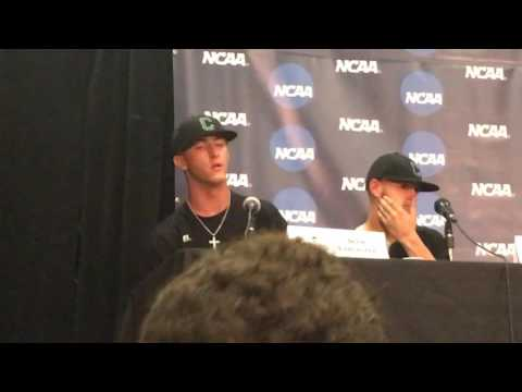 Coastal Carolina coach Gary Gilmore and players on 11-8 win against LSU