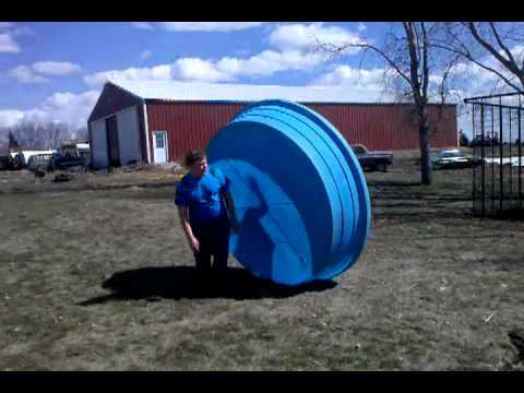 Fun At The Farm In A Stock Tank Youtube